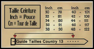 ceinture western cuir avec boucle amovible 9680b6498a4