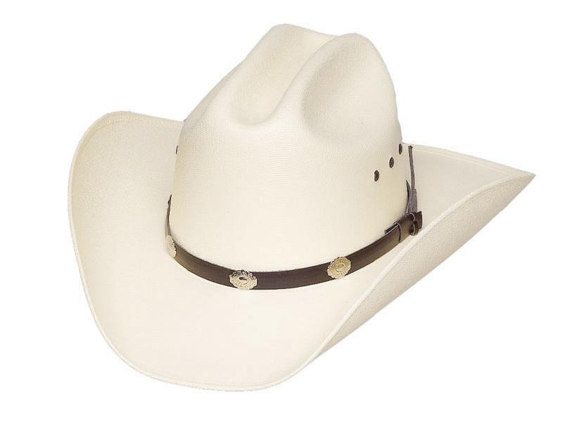 la moitié en ligne à la vente plus récent Chapeau western CA-4 blanc