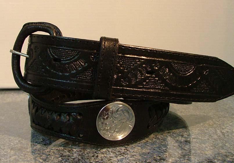 ceinture cuir XM-233. ceinture cuir homme style western 65a90d3813a
